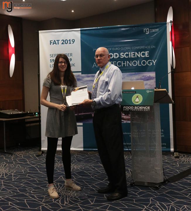 Keynote Speaker for Food Science Conferences
