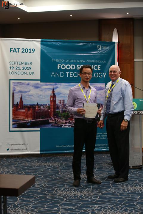 Speaker for Food Chemistry Conference