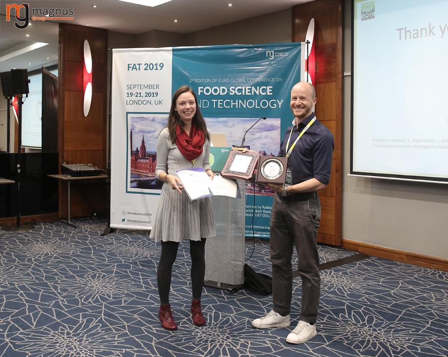 Keynote Speaker for Food Chemistry Conferences
