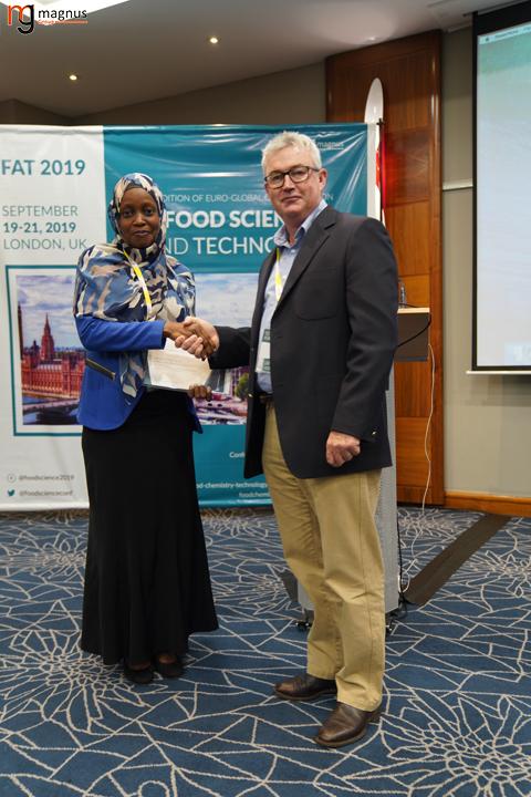 Speaker for Food Technology Conferences