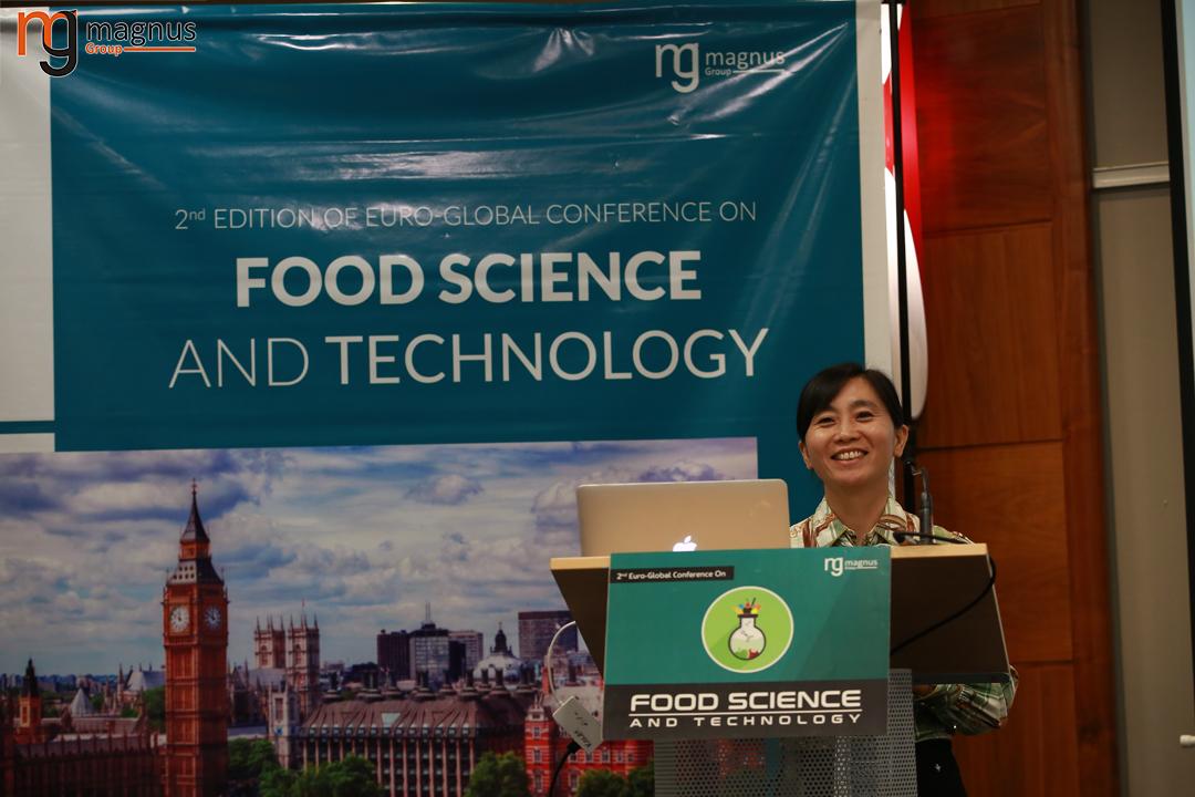 Keynote Speaker for Food Technology Conference